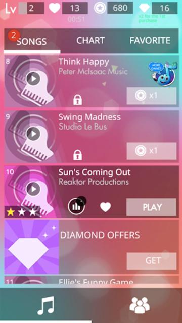 Magic Tiles Saga: Upbeat Music screenshot 6