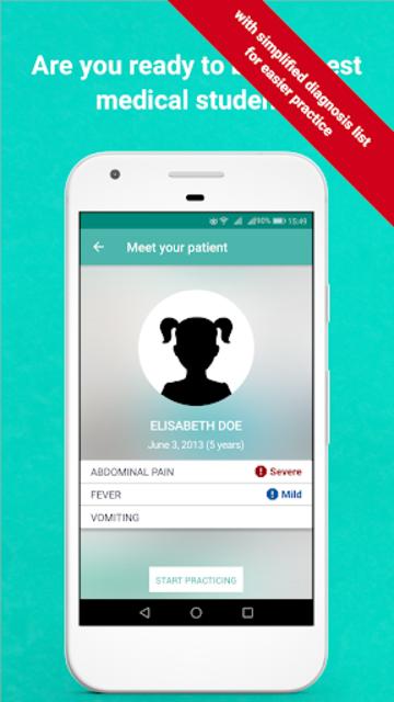 InSimu Patient - Diagnose Virtual Clinical Cases screenshot 1