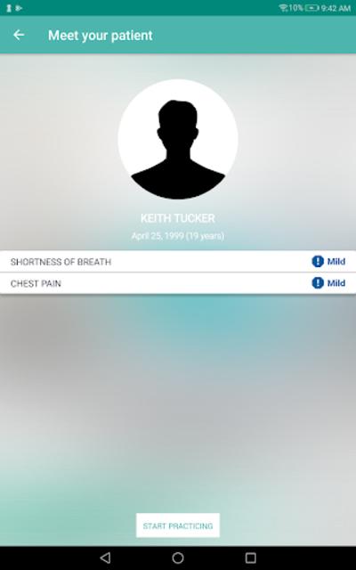 InSimu Patient - Diagnose Virtual Clinical Cases screenshot 10