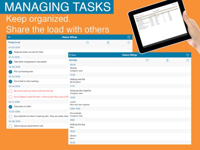 Caring - making caregiving manageable screenshot 12