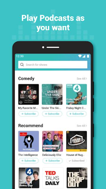 Ucast - Trendy Podcast Player screenshot 2