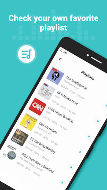 Ucast - Trendy Podcast Player screenshot 4