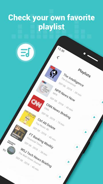 Ucast - Trendy Podcast Player screenshot 9