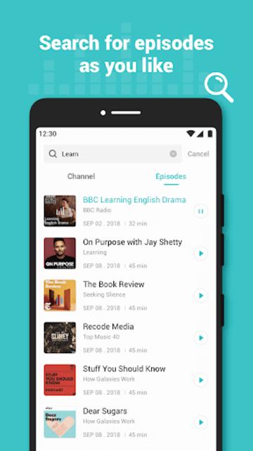 Ucast - Trendy Podcast Player screenshot 10
