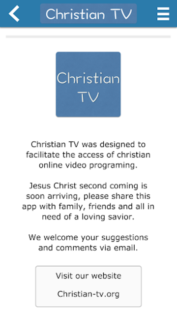 Christian TV - Donate screenshot 6