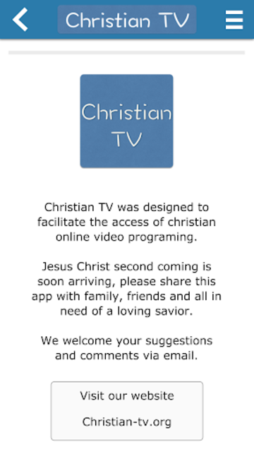 Christian TV - Donate screenshot 2