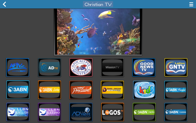 Christian TV - Donate screenshot 4