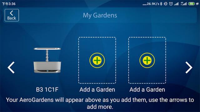 AeroGarden Wi-Fi (Phone) screenshot 1