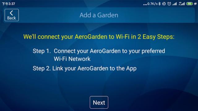 AeroGarden Wi-Fi (Phone) screenshot 2