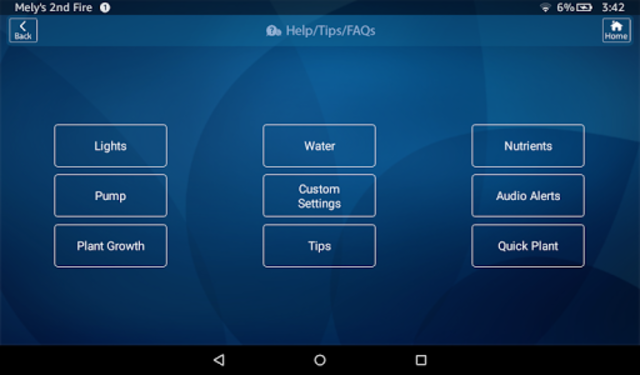 AeroGarden Wi-Fi (Phone) screenshot 9