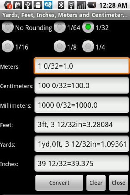 Metrics Conversion Key screenshot 3