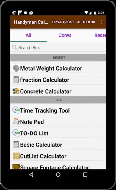 Handyman Calculator screenshot 10