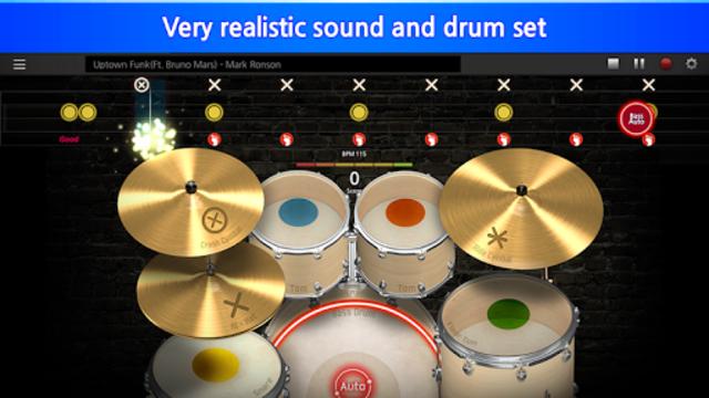 TouchBeat – Drum Game, Drum Set, Drum Lesson screenshot 2