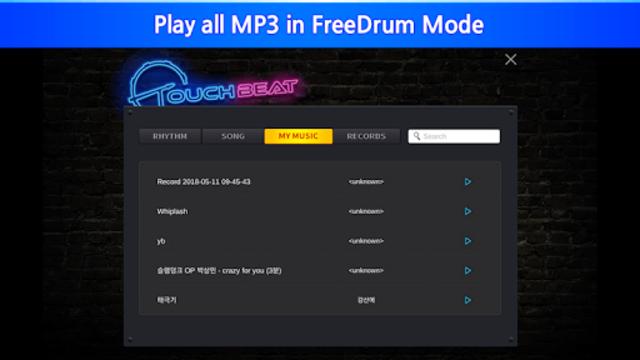 TouchBeat – Drum Game, Drum Set, Drum Lesson screenshot 6