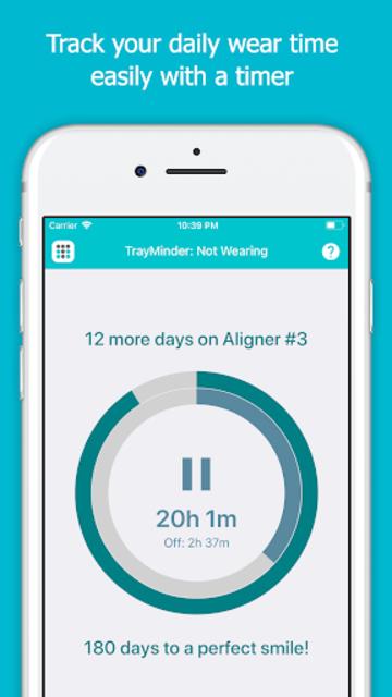 TrayMinder Aligner Tracker screenshot 1