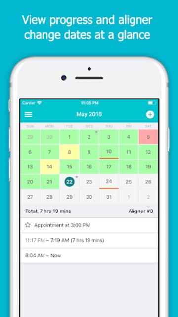 TrayMinder Aligner Tracker screenshot 2
