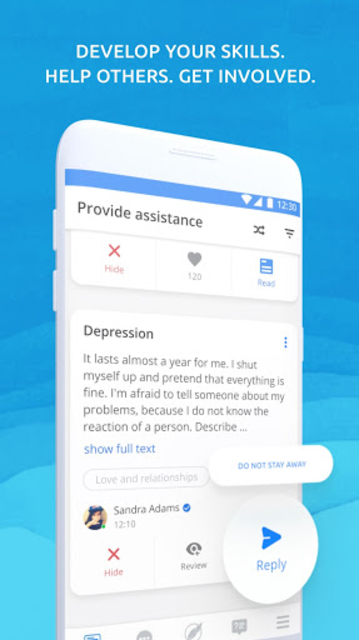 PSY - mental health chat. Support groups. Help. screenshot 2
