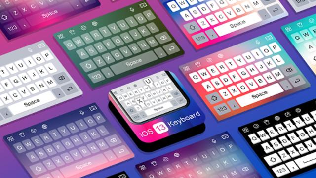 Keyboard for ios 13 - Keyboard for iphone 12 screenshot 1