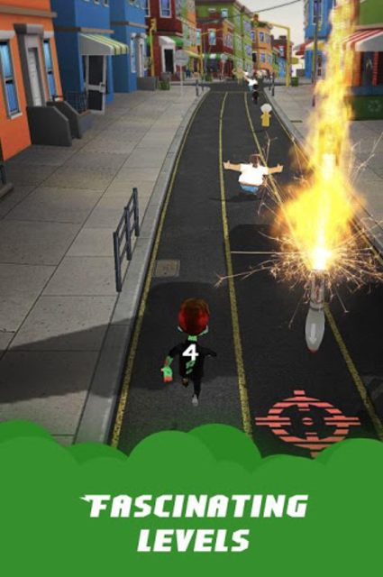 Zombies: Run & Bite screenshot 1