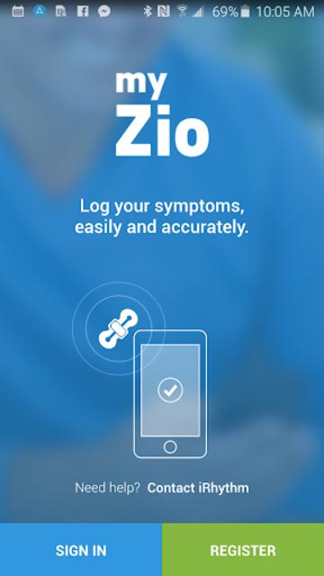myZio screenshot 1