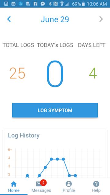 myZio screenshot 2