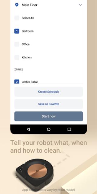 iRobot Home screenshot 4
