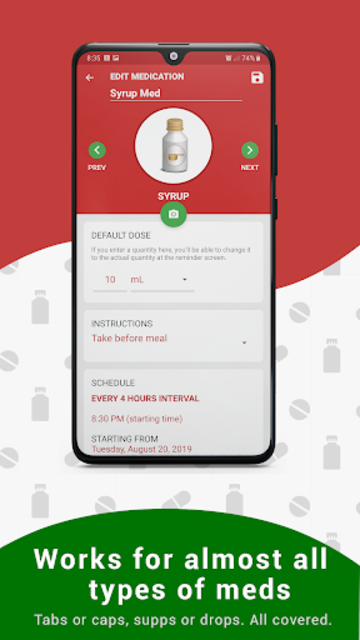 Medication Reminder, Pill Tracker & Refill: Medica screenshot 12