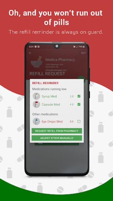 Medication Reminder, Pill Tracker & Refill: Medica screenshot 15
