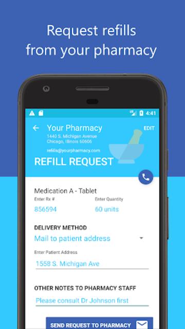 Medica: Pill Reminder, Tracker and Refill Reminder screenshot 6