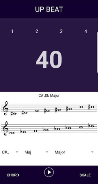 Up Beat - Tempo Increasing Metronome screenshot 2