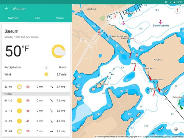Embark - Marine Charts. GPS navigation for Boating screenshot 16