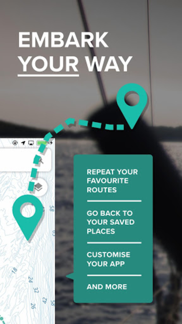 Embark - Marine Charts. GPS navigation for Boating screenshot 2
