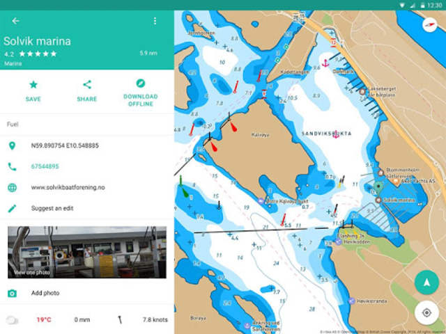 Embark - Marine Charts. GPS navigation for Boating screenshot 14