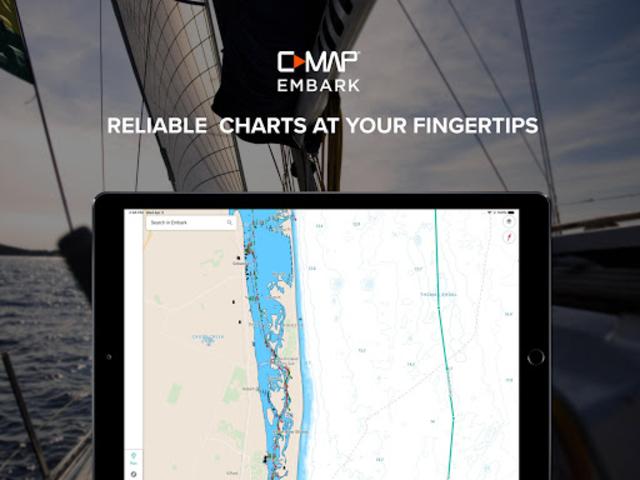 Embark - Marine Charts. GPS navigation for Boating screenshot 7