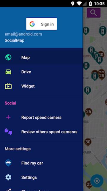 Speed Cameras Radar screenshot 4