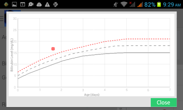 Phototherapy Calculator screenshot 2