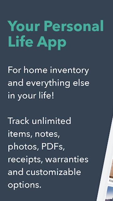 Itemtopia: Home Inventory & Home Organization screenshot 1