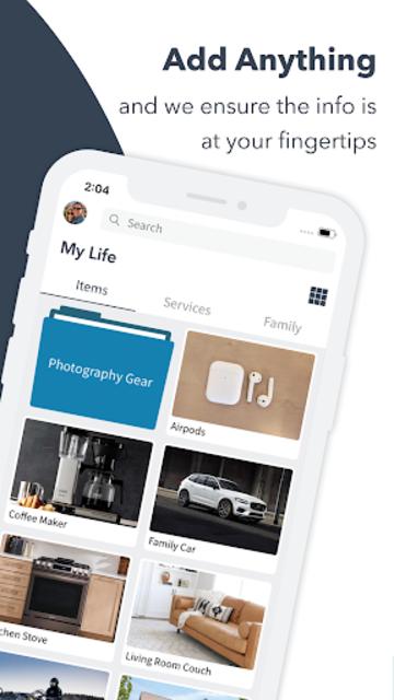 Itemtopia: Home Inventory & Home Organization screenshot 2