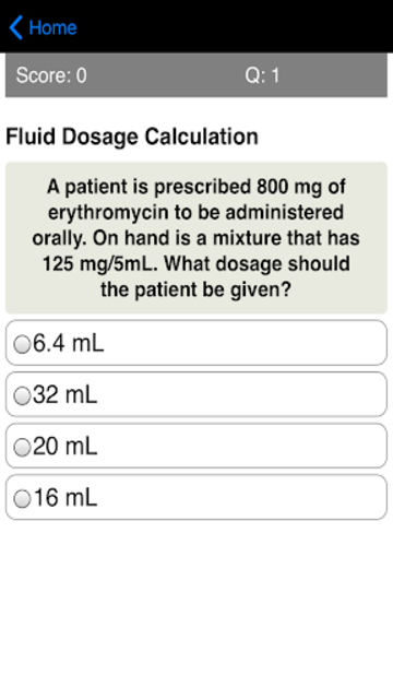 Dosage Calculations Quiz screenshot 9