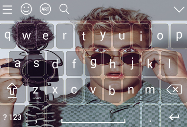 Keyboard for jake \paul screenshot 1