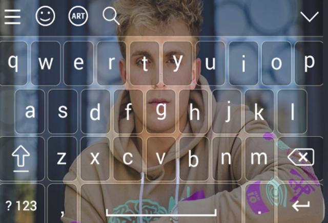 Keyboard for jake \paul screenshot 2