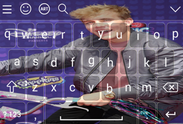 Keyboard for jake \paul screenshot 3