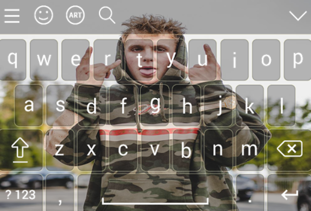 Keyboard for jake \paul screenshot 6