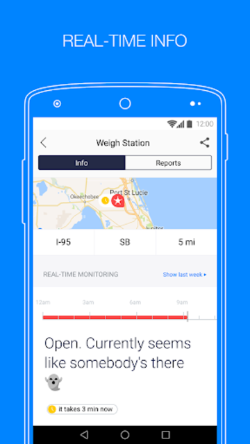 Jack Reports – weigh stations screenshot 2