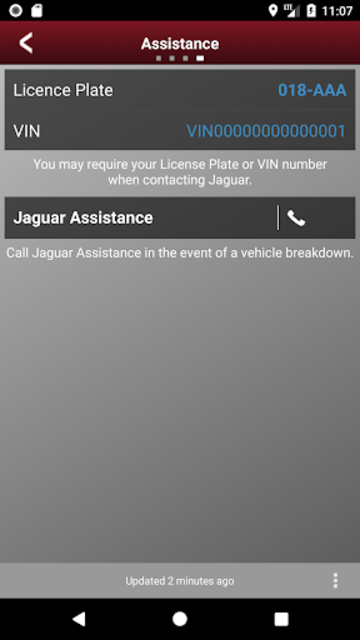 Jaguar InControl Remote screenshot 1