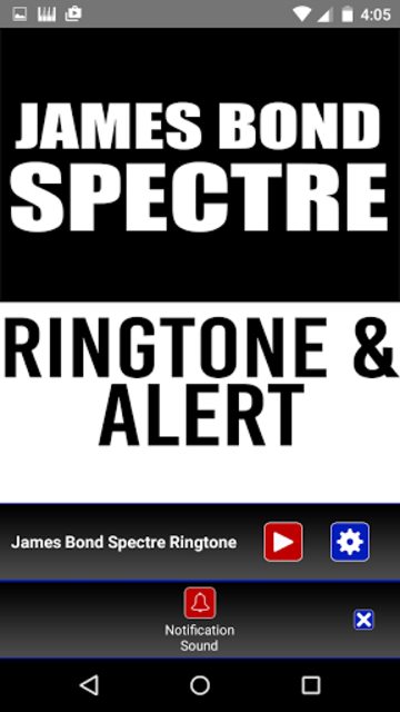 James Bond Spectre Ringtone screenshot 3