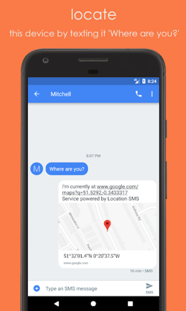 Location SMS - Offline Phone Finder screenshot 1