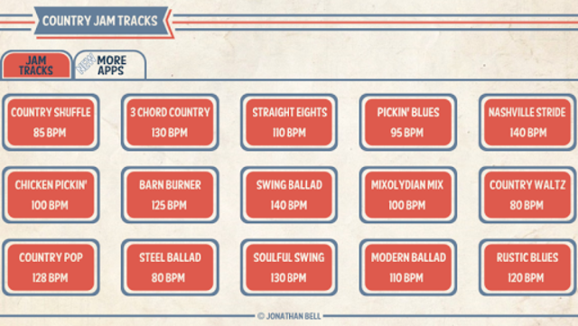 Country Guitar Jam Tracks screenshot 1