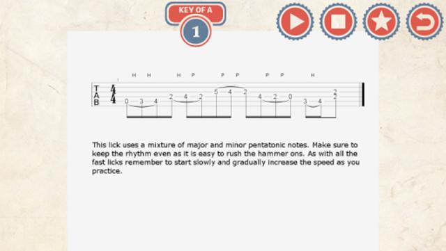 63 Country Guitar Licks screenshot 2