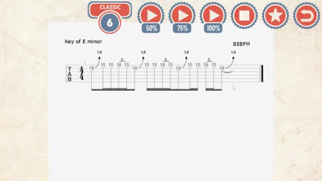 85 Metal Guitar Licks screenshot 4